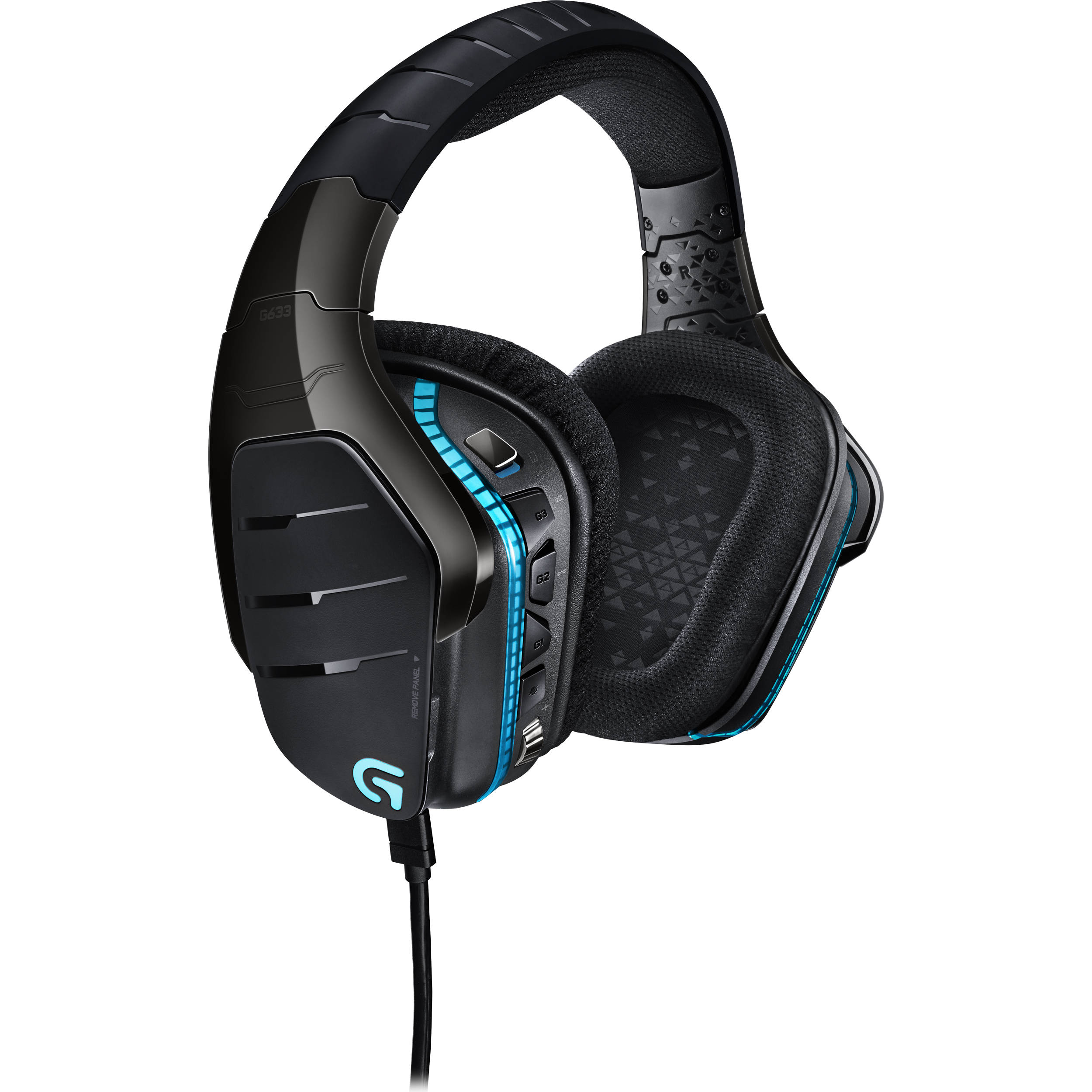 Logitech G633 Artemis Spectrum – RGB 7 1 Dolby and DTS Headphone Surround  Sound Gaming Headset – PC, PS4, Xbox One, Switch, and Mobile Compatible